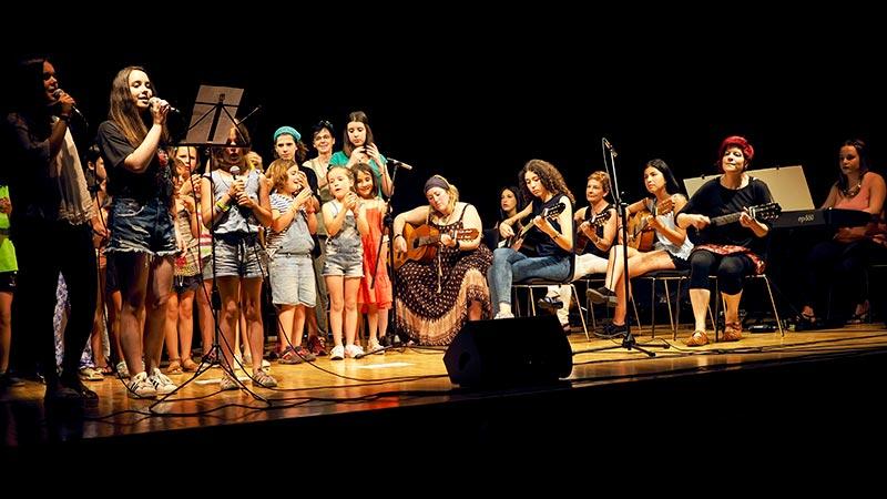Musika Eskola, UME, actuación en grupo