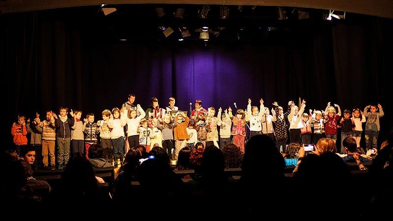 Musika eskola, UME, actuación infantil