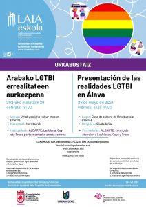 [:es]Presentación de las realidades LGTBI en Álava[:eu]Arabako LGTBI errealitateen aurkezpena[:] @ Kultur Etxea