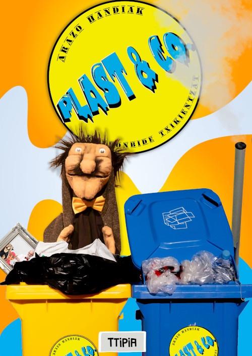 """[:es]Teatro """" Plast & Co"""" Producciones TTipia[:eu]Antzerkia: """" Plast & Co"""". Ttipia produkzioak.[:] @ Kultur etxea- antzerki aretoa"""